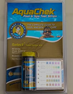 AquaChek Select 7-IN-1 Pool and Spa Test Strips Complete Kit