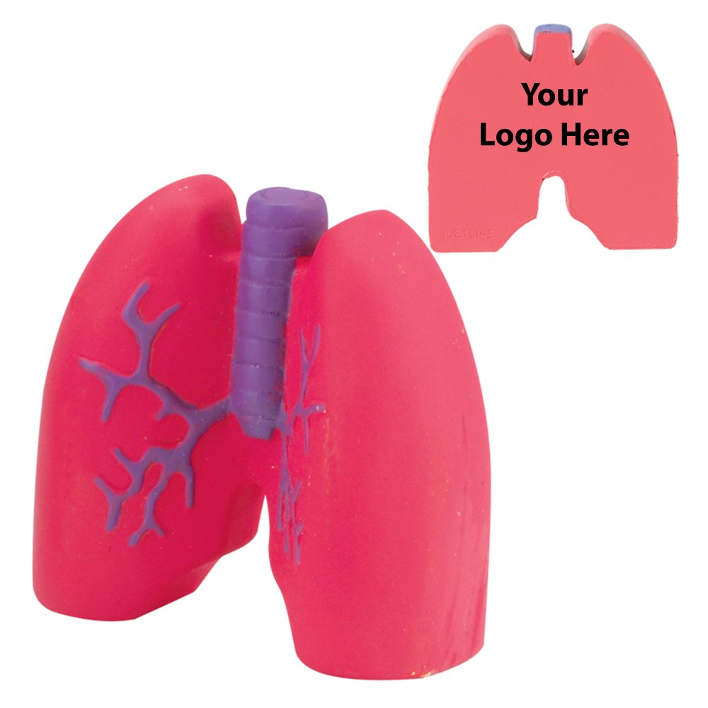 Lungs Stress Reliever - 150 Quantity - $2.25 Each - PROMOTIONAL PRODUCT / BULK / BRANDED with YOUR LOGO / CUSTOMIZED