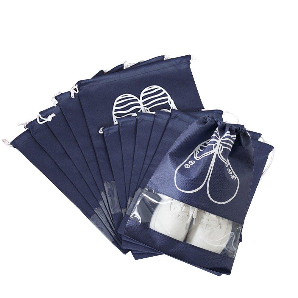 Shoe Ogranizer Travel Bags,Waterproof Dust-proof Organization Pack of 10