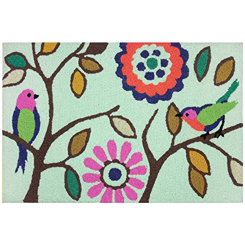 Pastel Acrylic Rug - Jellybean Pastel Aviary Indoor Outdoor Accent Rug - 21
