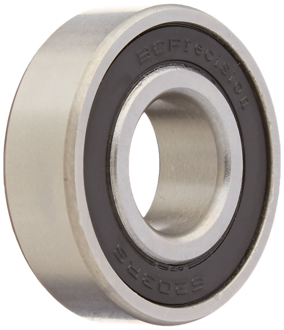 Amico 17 x 40 x 12mm 6203-2RS Double Side Sealed Ball Bearing BC Precision 9K-89MA-CNRK