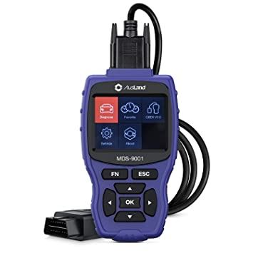 AusLand MDS 9001 OBD 2 Reader Car Diagnostic Code Scanner for All Systems  on Most B·M·W Models Makes, Full Functions + Special Functions DIY Pro