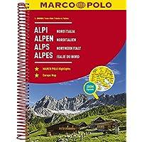 MARCO POLO Reiseatlas Alpen, Norditalien 1:300 000 (MARCO POLO Reiseatlanten)