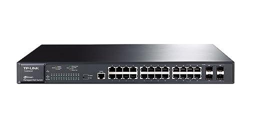 25 opinioni per TP-Link SG3424P JetStream Switch Gigabit Gestito L2 PoE+, 24 Porte, 4 Combo SFP