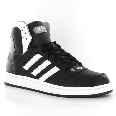 utilizar sensibilidad Flojamente  Adidas Woodsyde 84 Black White Leather Mens Trainers Size 10 UK ...