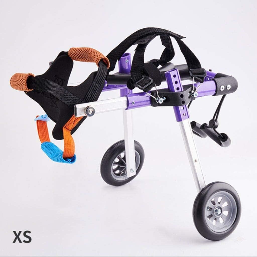 Silla de ruedas for perros for patas traseras Arnés de movilidad ...