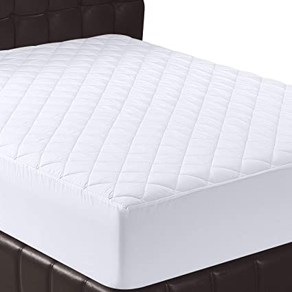 Utopia Bedding Quilted Fitted Mattress Pad (Twin)