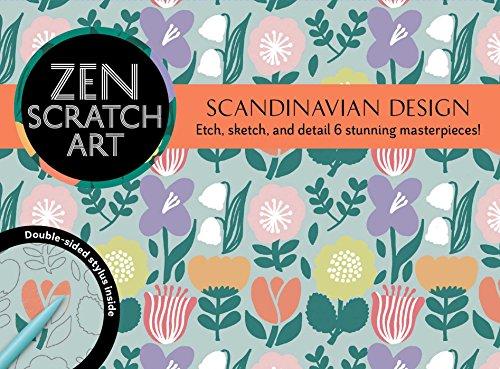 Zen Scratch Art: Scandinavian