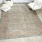 "Kathy Ireland Worldwide MAI09 Rustic/Vintage Traditional Area Rug, 3'11"" x5'7, Slate Review"