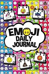 Emoji Daily Journal: A Fun Emoji Coloring and Writing Diary Paperback