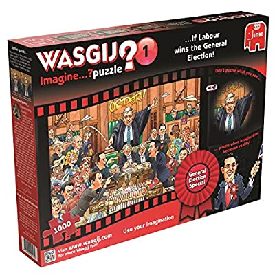 Jumbo Games Wasgij Imagine If Labour Win The General Election Jigsaw Puzzle