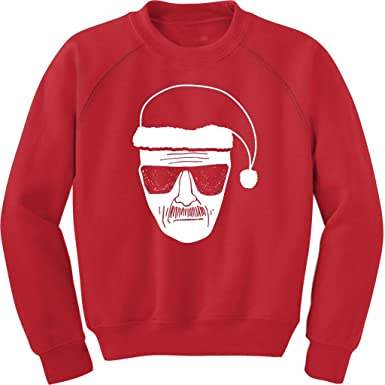 Amazon.com: Breaking Bad Heisenberg Walter White Adult Red Ugly ...