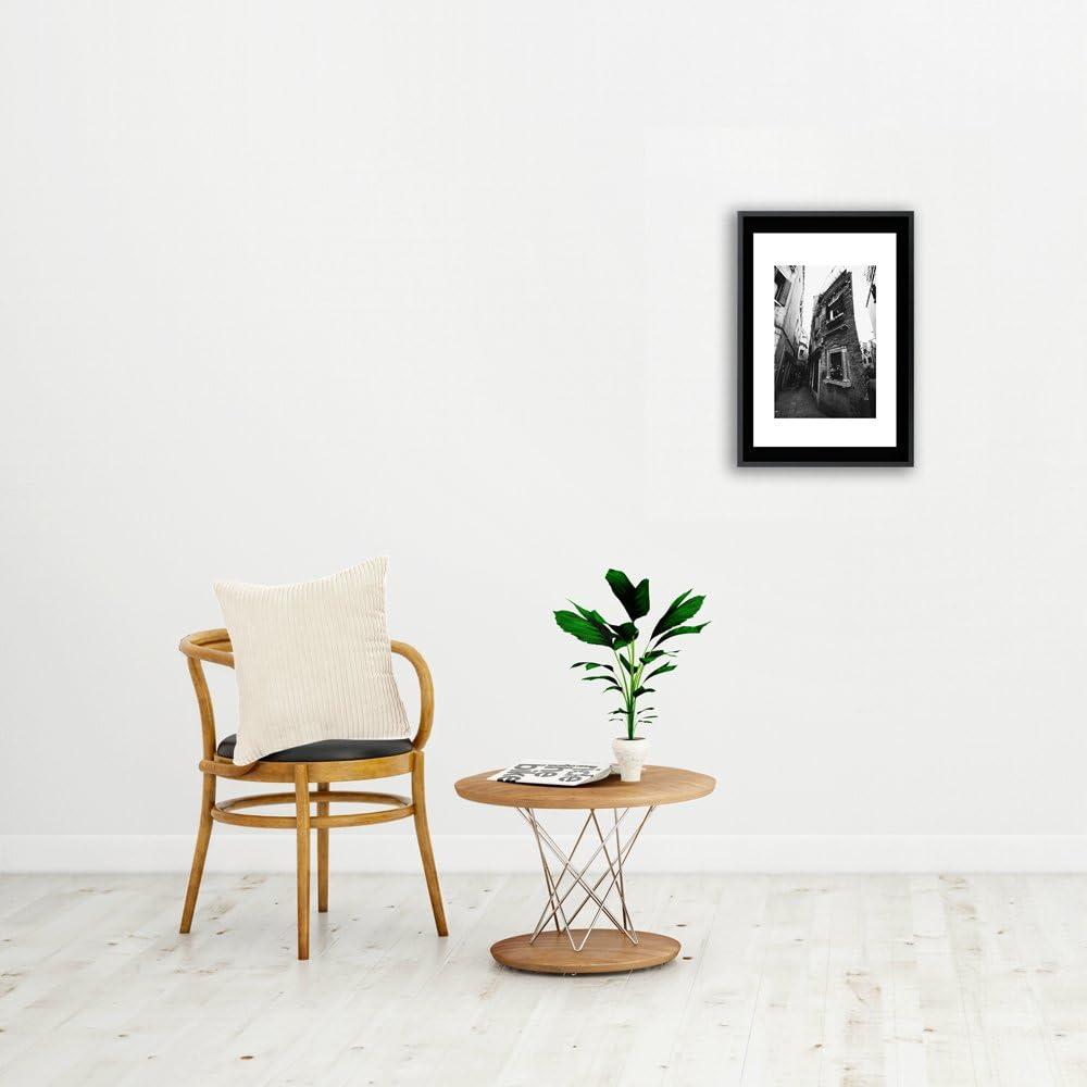 Belleine 2 Funda de coj/ín a rayas Funda protectora de coj/ín Euro Corduroy para sillas y sof/á de 45 x 45 cm,Beige