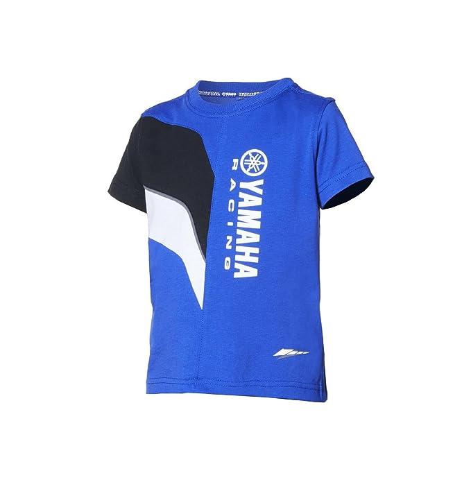 Yamaha - Camiseta de Manga Corta - para niño Azul Medium: Amazon.es: Ropa y accesorios