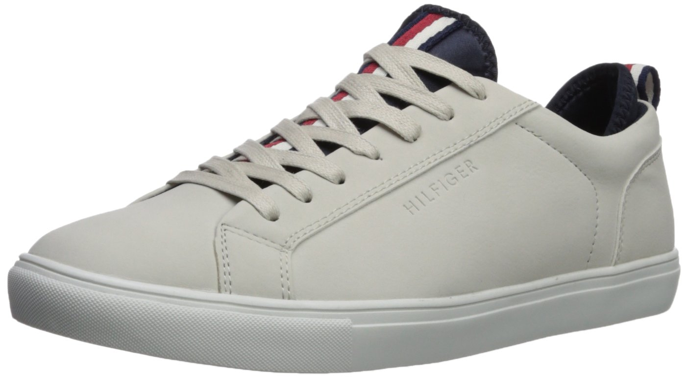 Tommy Hilfiger Men's MCNEIL Shoe, light grey, 12