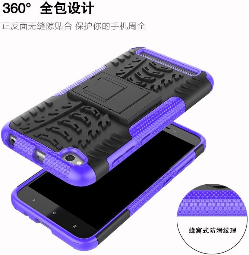 Coque Xiaomi Redmi 5A 360 degr/és Protection Bumper Film Verre Tremp/é 2 Pi/èce B/équille Cover Etui Silicone Housse Antichoc Cover Skin Cases Protector pour Xiaomi Redmi 5A Orange