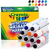 Crayola Ultra Clean Washable Markers, Broad...