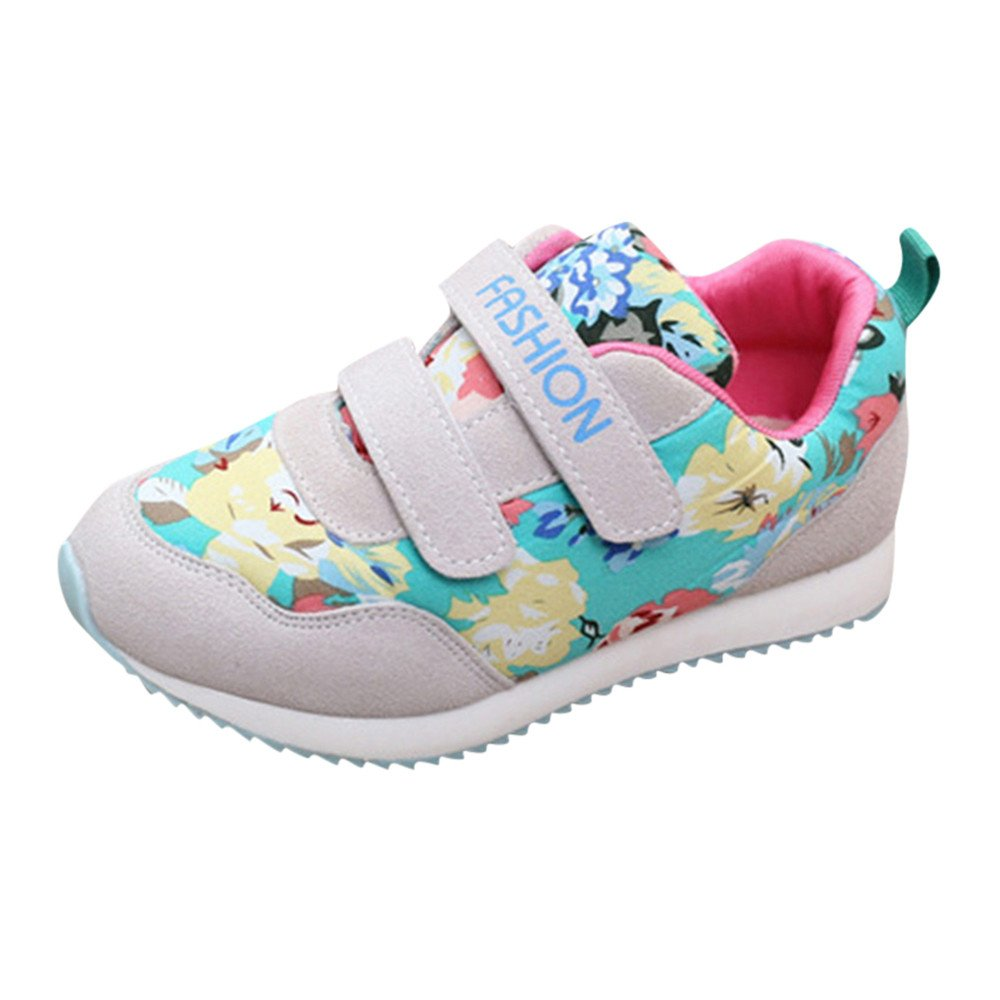 Amazon.com: Cloudro Kids Sneakers Little Boys Girls Soft Rubber Sole Hook&Loop Sports Shoes: Sports & Outdoors