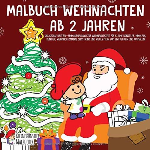 Schneller Versand Mein Weihnachts-Malbuch tolle Motive
