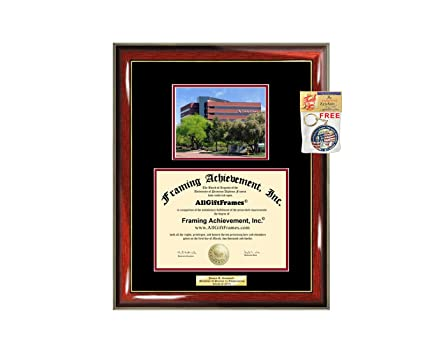 Amazon.com - Diploma Frame University of Phoenix UOP Graduation Gift ...
