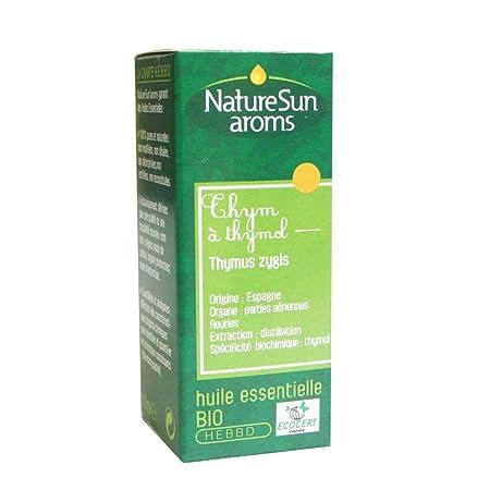 Tomillo Timol Aceite Esencial Bio - 30 ml natursun: Amazon.es: Salud y cuidado personal
