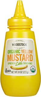 product image for Woodstock Farms Organic Mustard - Yellow - 8 Ounces
