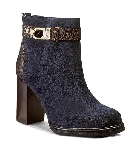 Botines Tommy Hilfiger Hillary 7c - Color - AZUL, Talla - 40: Amazon.es: Zapatos y complementos