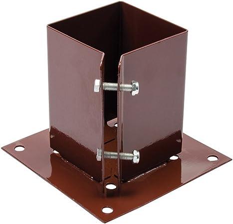 Silverline Tools FIXMAN 721033 - Soporte sujeta Postes (100 x 100 mm): Amazon.es: Coche y moto