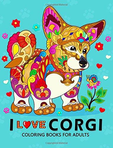 love Corgis Coloring Books Adults product image