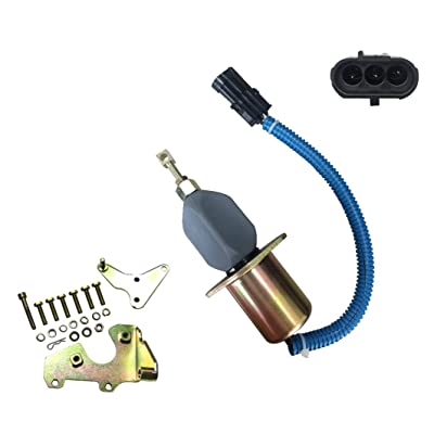 New Premium Fuel Shut Off Solenoid fits Ford Truck Applications Cummins 5.9L & 8.3L Diesel Engines with Bosch RQV-K Governor Bosch Applications SA-4026-12 SA-4124-12 SA402612 SA412412 3934974: Automotive