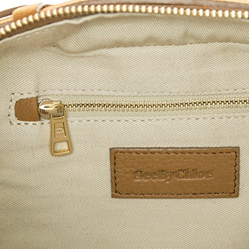 Women's Patti Chloe Suede Tan Handbag By See qwR0EE