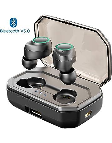 Cuffie Bluetooth 5.0 Muzili Auricolari Bluetooth Con Custodia Ricarica  3000mAh Cuffie Wirless 130 2ec8dd2a33e5