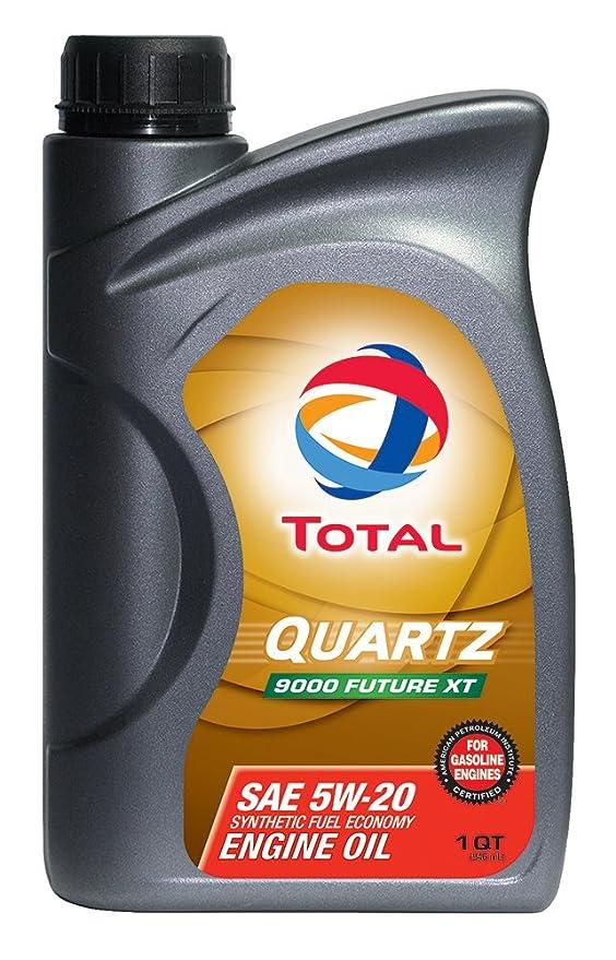 Amazon.com: TOTAL 185642-12PK Quartz 9000 Future XT 5W-20 Engine Oil - 1 Quart (Pack of 12): Automotive