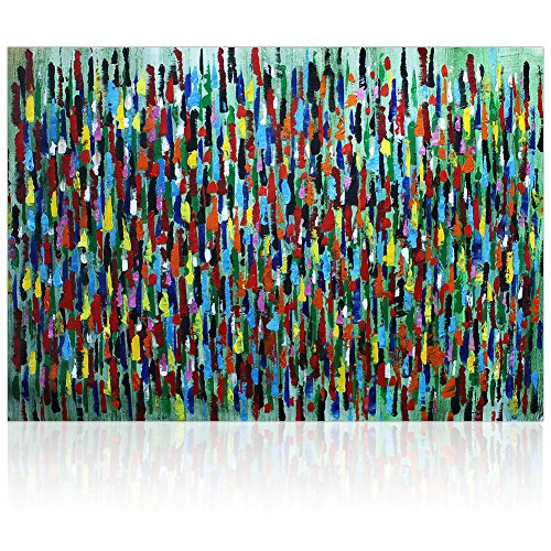 iarts-raindrops-artwork-100-hand-painted-acrylic-contemporary-oil-paintings-modern-wall-art-for-home