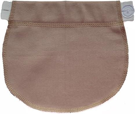 Maternity Pregnancy Waistband Belt ADJUSTABLE Elastic Waist Extender Pants CYN