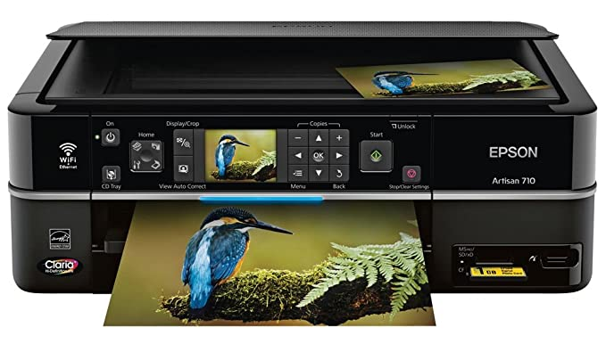 Amazon.com: Epson Artisan 710 Wireless Color Inkjet All-in ...