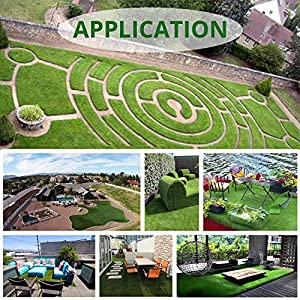 Zen Garden Pzg Premium Artificial Grass Patch W Drainage