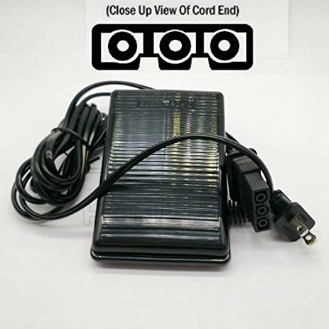 61L8U3cKEhL._SY463_ amazon com sewing machine foot control pedal & cord j00360051 for  at soozxer.org