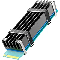 GLOTRENDS M.2 Heatsink 0.4inch/10mm Thick Fit for 2280 M.2 PCIe 4.0/3.0 NVMe SSD