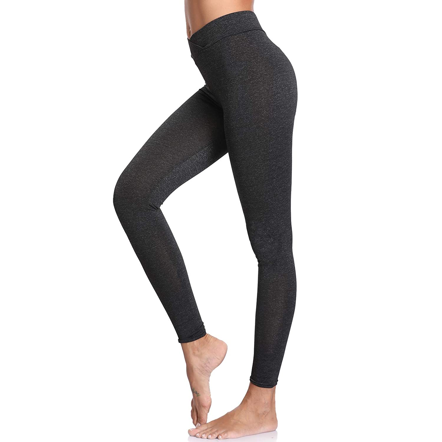 Joyshaper Ruched Butt Leggings Women Black Grey Capri Trousers Tights Yoga Pants Slimming High Waisted Push Up Butt Lifter Running Gym Workout Fitness Training Tummy Control