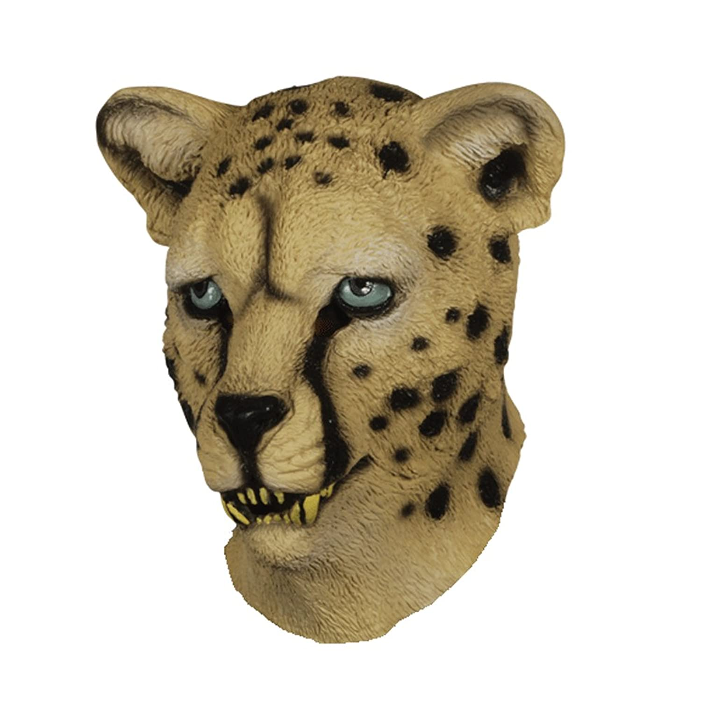 sc 1 st  Amazon.com & Amazon.com: Latex Full Head LEOPARD CHEETAH Mask: Clothing