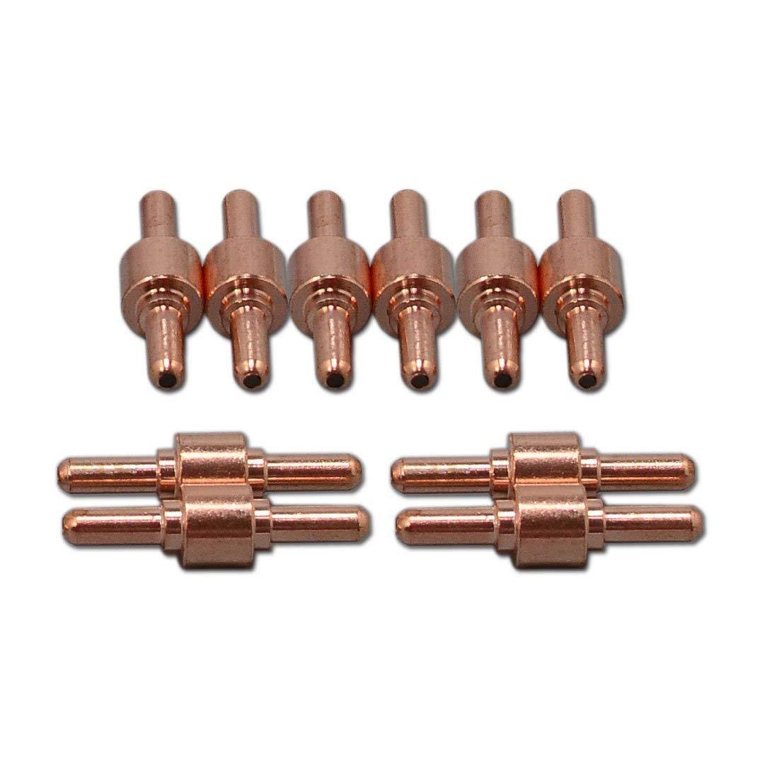 PT31 LG40 plasma Electrodo punta de la boquilla de corte Consumibles ajuste Accesorio de corte 50D cut50 CT-312, 100pcs: Amazon.es: Bricolaje y herramientas