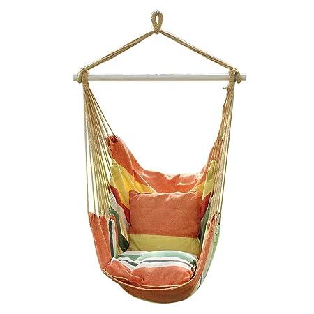 Amazon De Garten Seil Zum Aufhangen Stuhl Baumwolle Gepolsterte