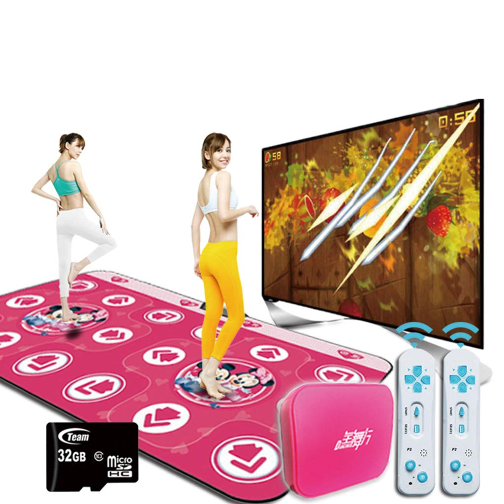 Children Dance Mat,Wireless Foldable Dance Pad Fitness Play Mat Dance Revolution Dancing Lose Weight Dancing Blanket-a 166x93cm(65x37inch) by WEWE (Image #2)