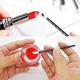 Deksias 100pcs Lip Gloss Stick Disposable