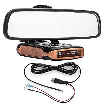 PerformancePackage espejo pantalla plana soporte de Radar Detector + Direct cable cable de alimentación - Escort Max Max2: Amazon.es: Electrónica