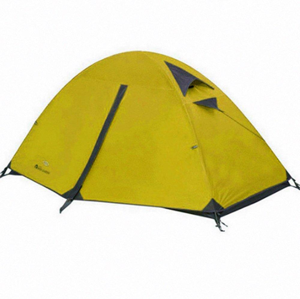 TLMY Outdoor-Doppel-Konto Aluminium-Legierung Outdoor-Feld Camping Einzelnes Zelt Zelte