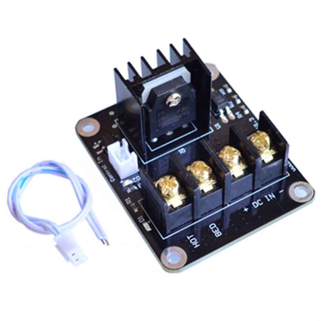 Módulo de potencia de cama calefactora Impresora 3D Módulo ...