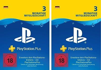 Playstation Plus Mitgliedschaft 6 Monate Deutsches Konto Ps4
