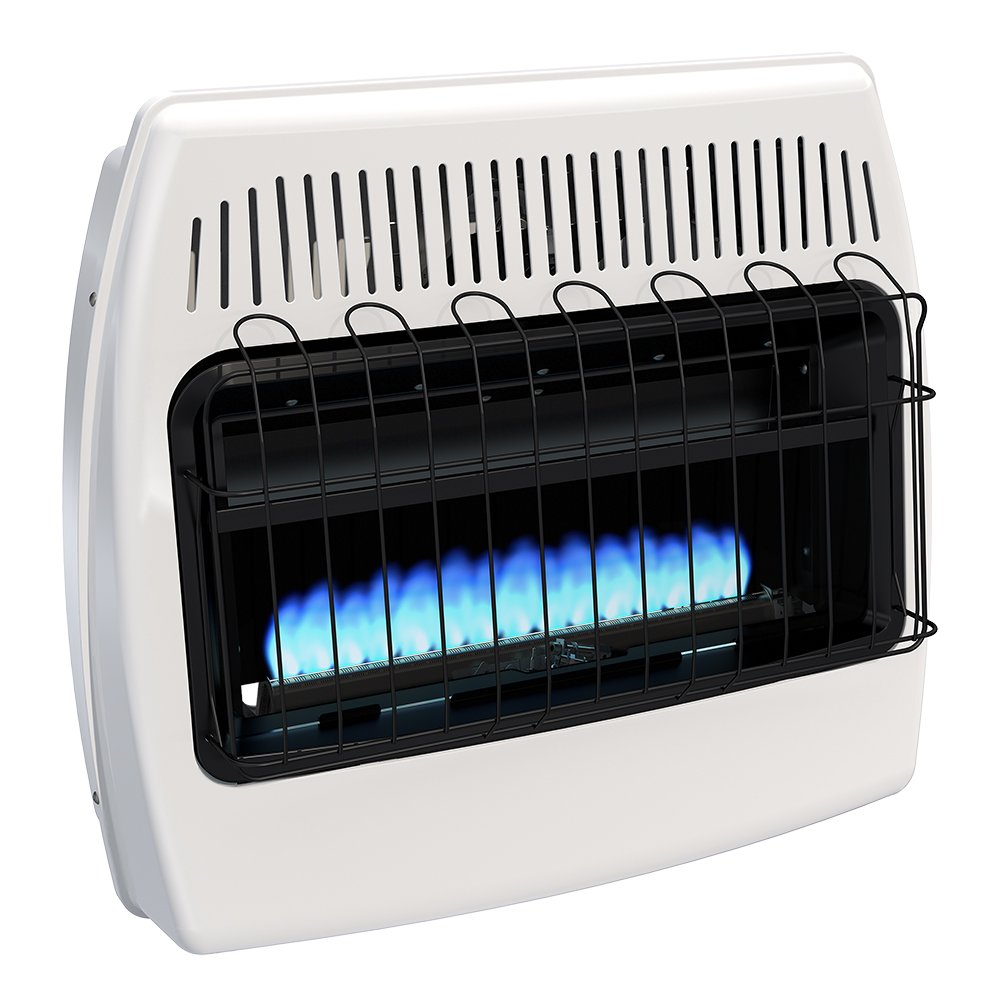 Dyna-Glo BF30NMDG 30,000 BTU Natural Gas Blue Flame Vent Free Wall Heater by Dyna-Glo